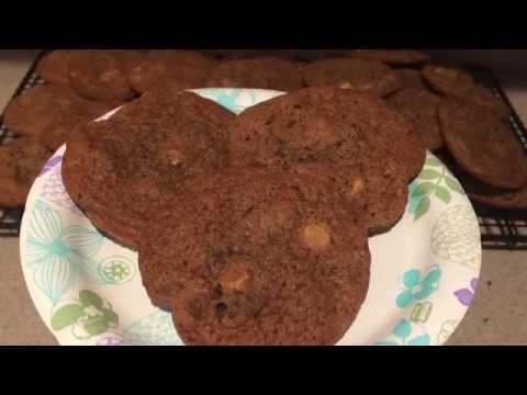 Double Chocolate Peanut Butter Chip Cookies