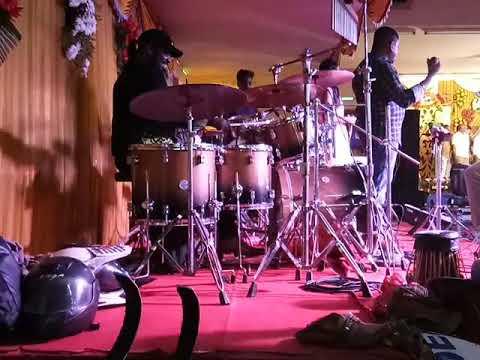 Emil drummer playing poo maalai oru paavai song8825760871/9840311701