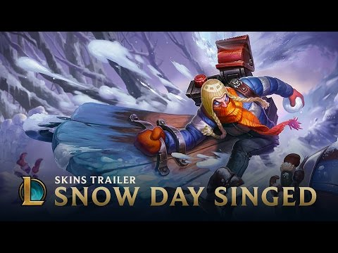 Snow Day Singed | Skins Trailer - League of Legends