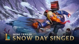 League of Legends - Snow Day Singed