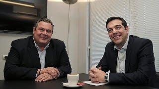 Yunan Halkı Hükümete Olan Güveni Kesmiş