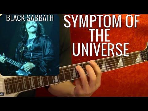 Sympton of the Universe by BLACK SABBATH - Guitar Lesson - Tony Iommi