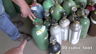 how to buy used welding gas bottles oxygen acetylene argon tank Austin Texas thumbnail