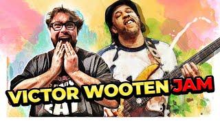 Victor Wooten & Federico Malaman - Musikmesse 2014 - Isn