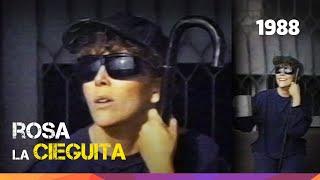 """Verónica Castro es """"Rosa Salvaje - La cieguita"""". Sketch del programa  Mala Noche... No! - 1988"""