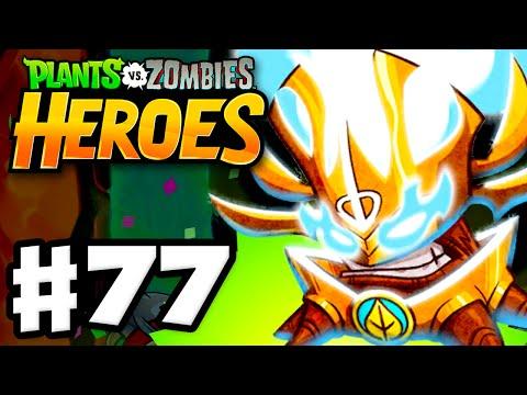 Plants vs. Zombies: Heroes - Gameplay Walkthrough Part 77 - No Vacation at Volcano! (iOS, Android)