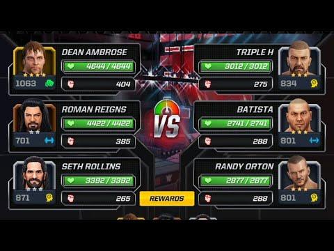 The Shield VS The Authority In WWE Mayhem 2018
