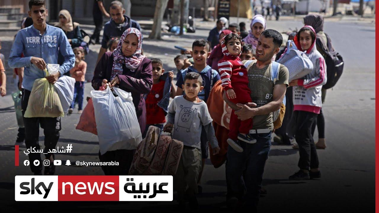 فلسطين وإسرائيل/الأمم المتحدة: نزوح 10 آلاف في غزة بسبب القصف  - 15:54-2021 / 5 / 15