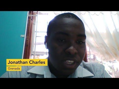 Testimonial: Jonathan Charles, Grenada