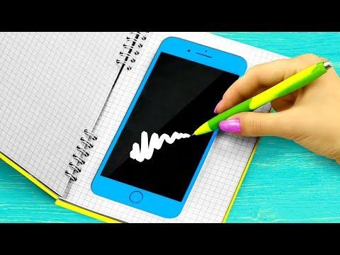 10 Weird Ways To Sneak Gadgets Into Class / School Pranks And Life Hacks