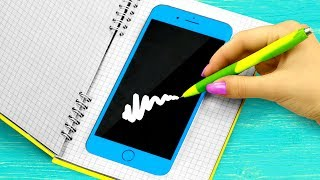 10 Weird Ways To Sneak Gadgets Into Class / School Pranks And Life Hacks thumbnail