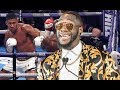 DEONTAY WILDER SAYS ANTHONY JOSHUA HAD HIS CHANCE TO PROVE HE IS THE BEST!!
