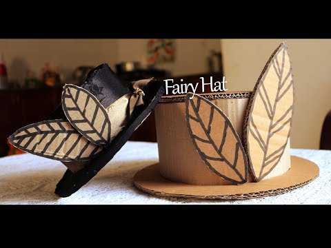 How to make CARDBOARD HATS – Cardboard Hat for Kids