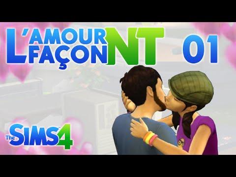 Sims 4 - L'AMOUR FAÇON NT - #01 - L'homme fourchette !