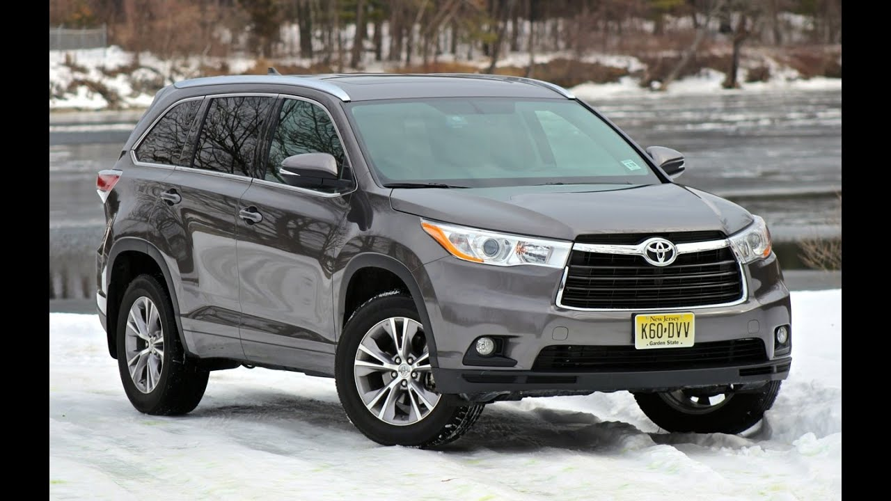 Toyota Highlander   YouTube