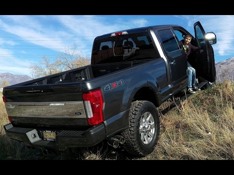 Glitchy First Use of 4X4 on 2017 F350