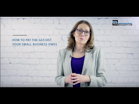 How Do I Make A GST & HST Payment In 2019?