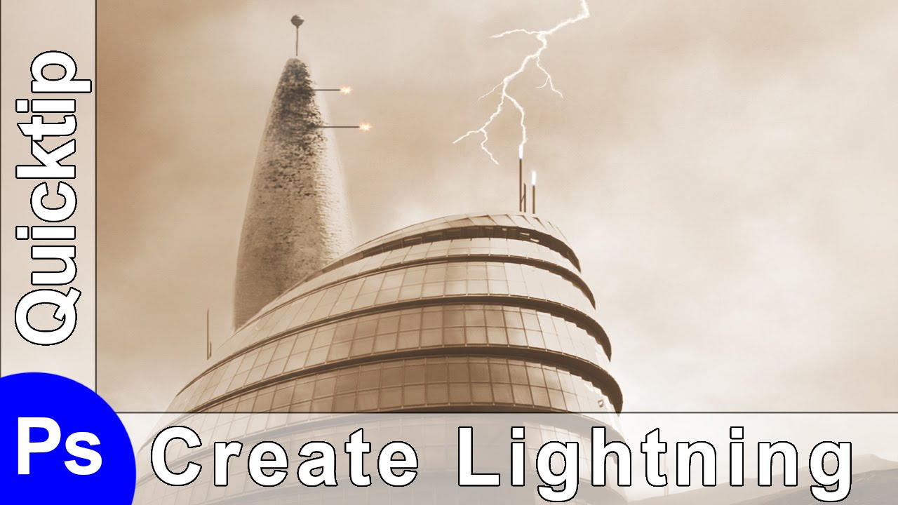 photoshop quick tip how to create a lightning bolt in photoshop