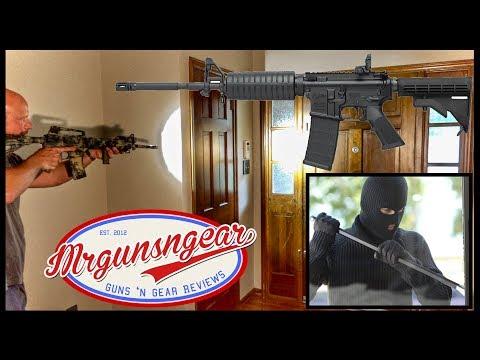 Burglar Tried To Break In But I Had An AR-15 Ready