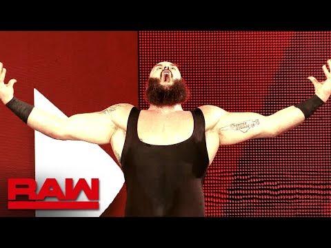 Braun Strowman's destructive 2018: Raw, Dec. 31, 2018