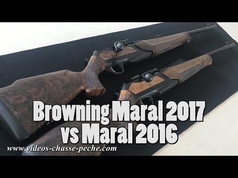 Browning Maral 2017 vs Maral 2016 - Nouvelle Maral 2017