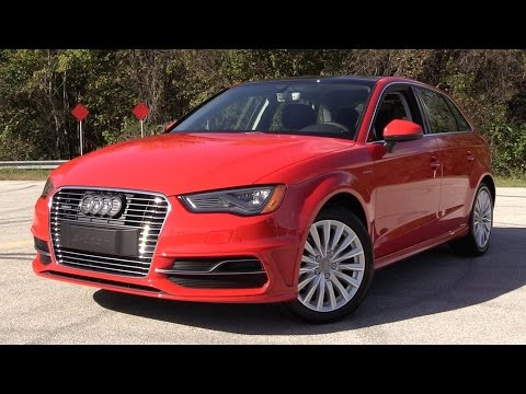 2016 Audi A3 Sportback E-Tron Start Up, Road Test, And In Depth Review