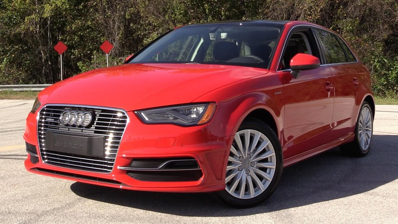 2016 audi a3 sportback e tron start up road test and in depth review youtube