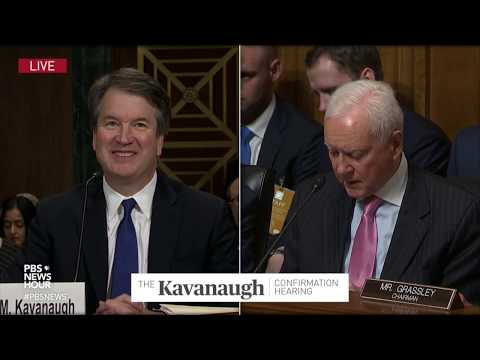 'This man is not a monster,' Hatch says of Kavanaugh