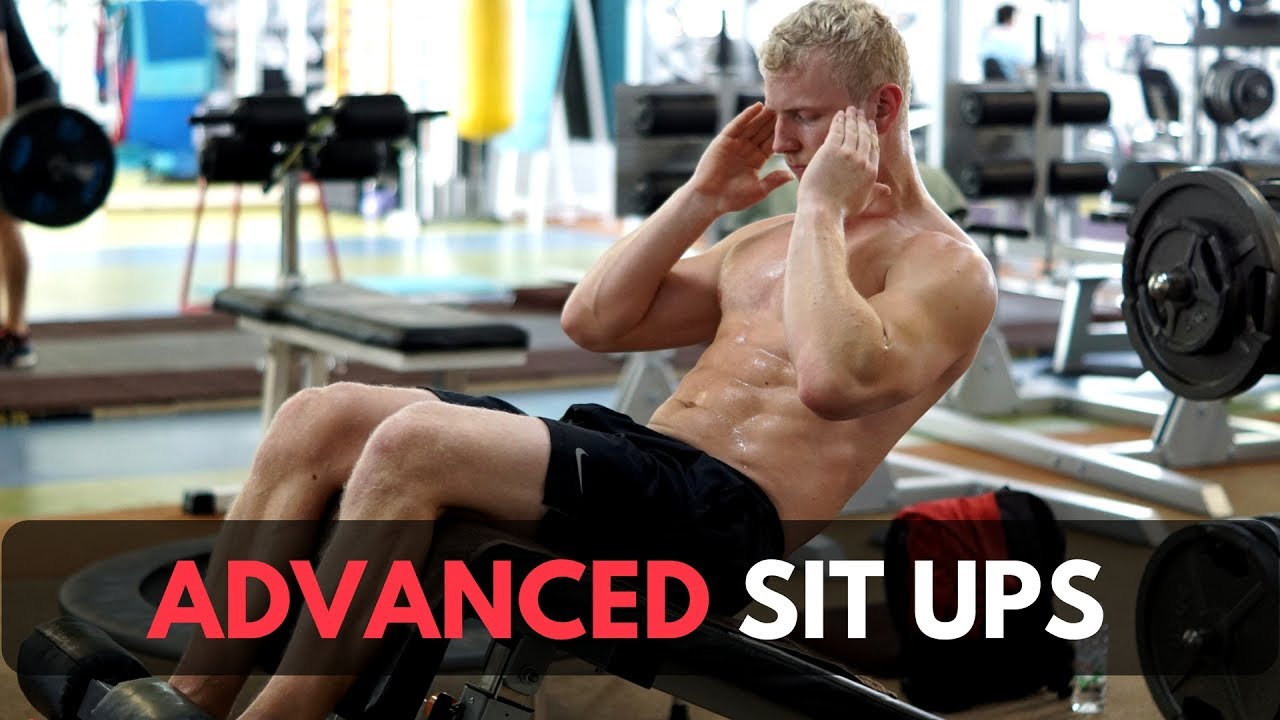 advanced sit ups for abs and hip flexors youtube. Black Bedroom Furniture Sets. Home Design Ideas