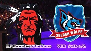 Playoffs 2019: Spiel 3 EC Hannover Indians vs Selber Wölfe,  Eishockeyoberliga Nord