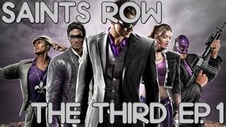 Saints Row:The Third (Ep. 1) - Gameplay em PT-BR