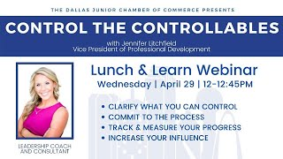 DJCC WEBINAR PREVIEW: Jennifer Litchfield