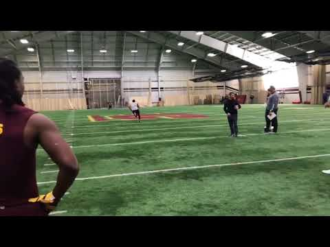 Watch QB Shane Morris throw in front of NFL scouts at Central Michigan pro day