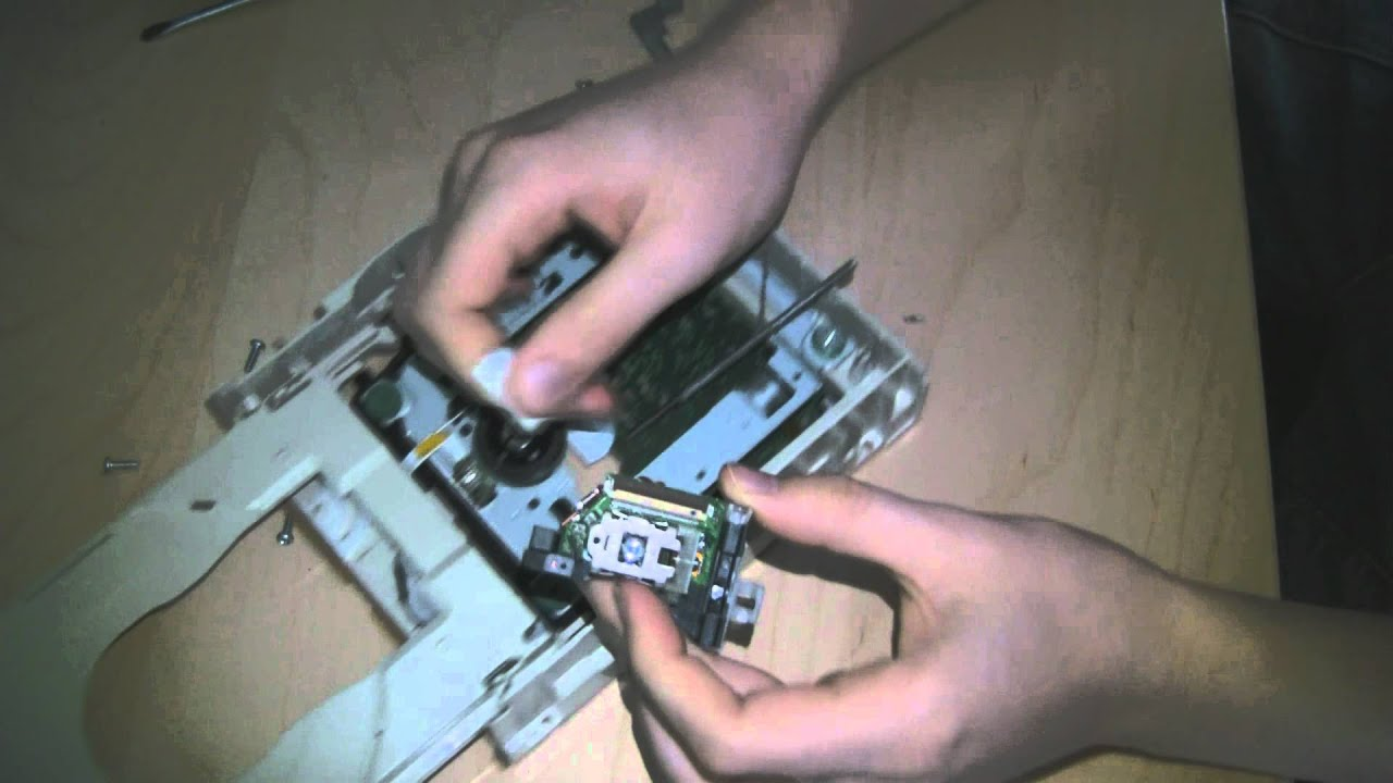 How To Get the Laser Diode Out Of A DVD Burner