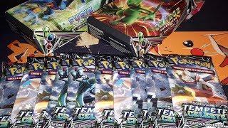 Ouverture de 10 Boosters Pokémon Tempête Céleste + les Decks !