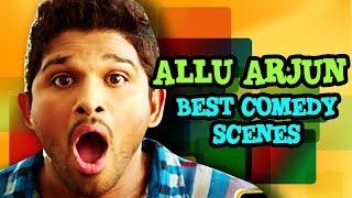 Allu Arjun 2018 All New Hindi Dubbed Comedy Scenes  Comedy Scenes in Hindi Dubbed   360p