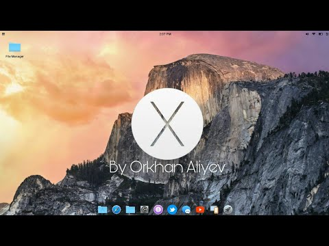 MAC OS X En Android (launcher)