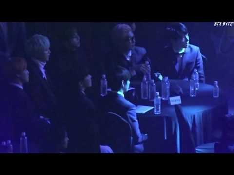 BTS reaction to Gfriend Yuju singing Fire by Madclown