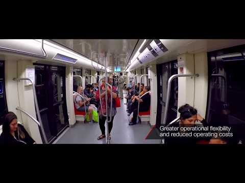Inneo Fully Automated Metros For Metro De Santiago, Chile