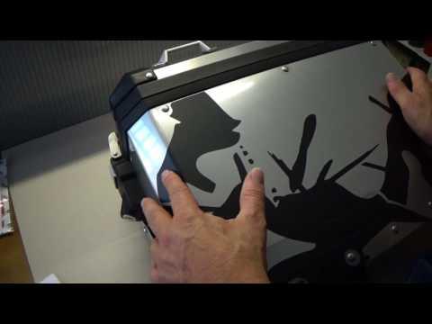 HOW TO: BMW Aluminium Panniers Safari Series