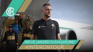 WE'VE LANDED IN SINGAPORE! | #INTERONTOUR | INTER PRE-SEASON 2019/20 🇸🇬⚫🔵