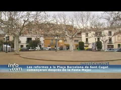 Les Reformes A La Plaça Barcelona De Sant Cugat Començaran Després De La  Festa Major