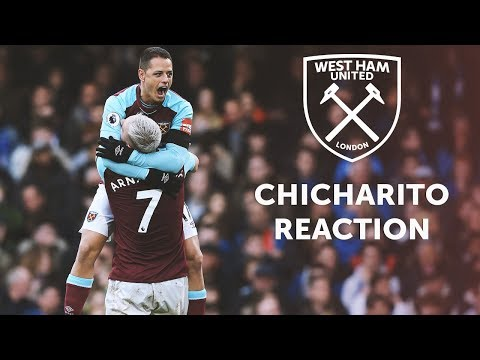 CHICHARITO: THE BALL CAME TO ME AND I DECIDED I'D SCORE!