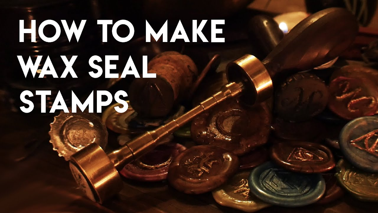 5 DIY Wax Seal Stamps : Beginner to Advanced