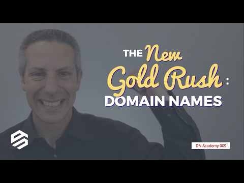 The New Goldrush: Domain Names