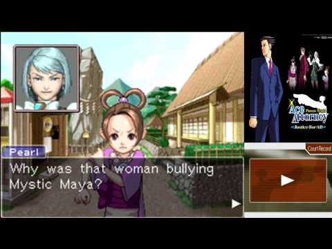 Phoenix Wright JFA Case 2, Part 11: Absolutely (Story of a Pearl)