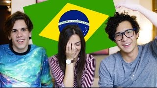 One of Vania Fernandes's most viewed videos: APRENDER BRASILEIRO COM NAKADA E POLADO | Vania Fernandes