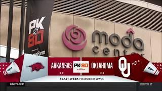 Arkansas vs. Oklahoma 11/23/2017 thumbnail