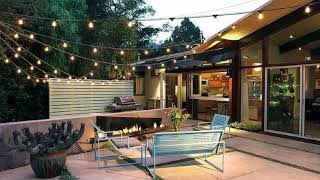 #Unique Outdoor Lighting Designs Ideas, Best Patio String Light Design Ideas, Lighting Designs #1