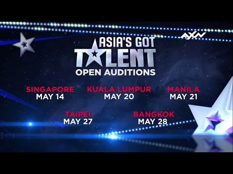 Asia's Got Talent Open Auditions are coming to a city near you!